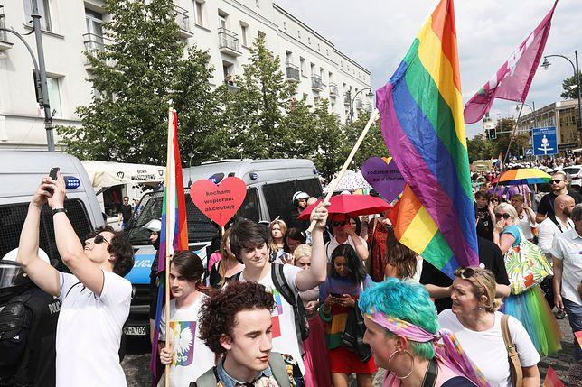 Policja zatrzymała na Marszu Równości 20 osób