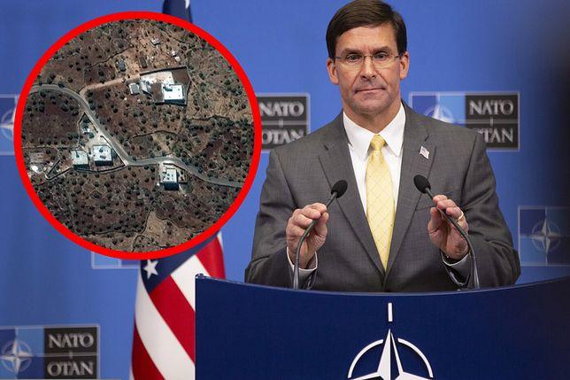 Szef Pentagonu Mark Esper skomentował operację dotyczącą lidera ISIS Abu Bakr al-Bagdadiego