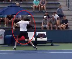 Furiat na korcie! Skandaliczne zachowanie tenisisty