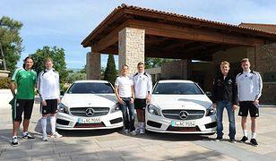 Schumacher i Rosberg odwiedzili niemiecką kadrę