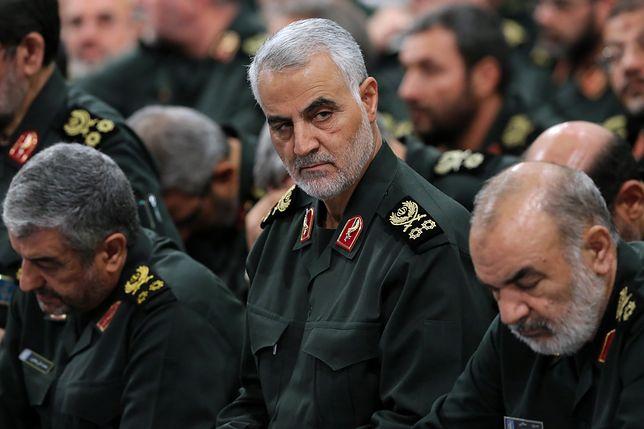 Zginął Kasem Sulejmani, dowódca elitarnej jednostki Al Kuds