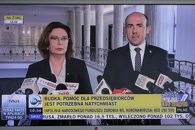 Koronawirus w Polsce. Borys Budka: pomoc dla przedsiębiorców jest potrzebna natychmiast
