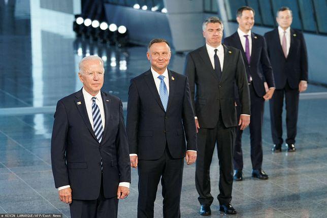Andrzej Duda chwali Joe Bidena za rozmowę z Putinem