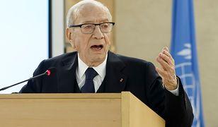 Prezydent Tunezji Bedżi Kaid Essebsi