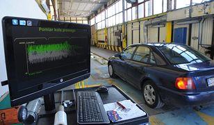 Przegląd samochodu, badanie techniczne