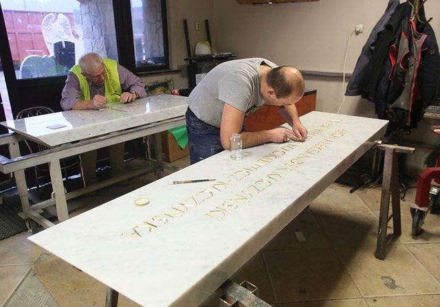 Tak wygląda nowy sarkofag pary prezydenckiej
