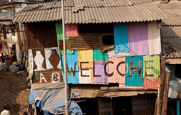 Dharavi w Bombaju, Indie