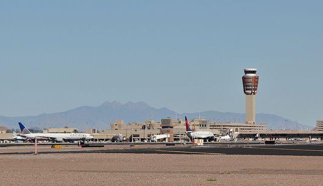 Za gorąco, by latać. Pół setki samolotów uziemionych w Phoenix