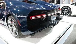 Takiego elementu nikt się nie spodziewał w Bugatti Chironie