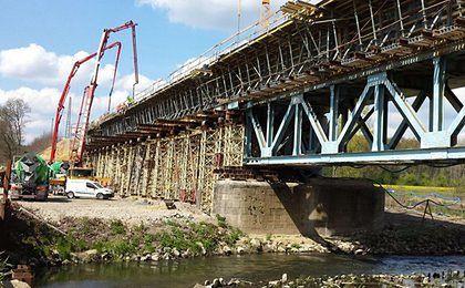 PKP PLK buduje nowy most kolejowy. Przejazd do Niemiec już w grudniu