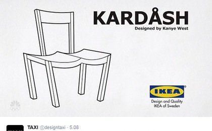 Kanye West proponuje współpracę Ikei. Internet odpowiada i kpi z rapera