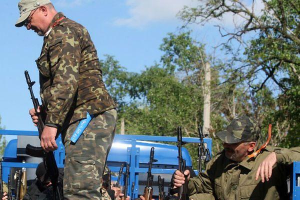 Kolejny dzień walk w Słowiańsku, separatyści próbują wyrwać się z miasta