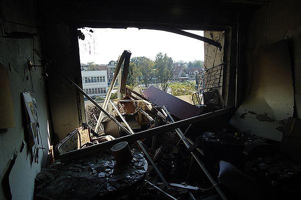 Potężny wybuch gazu w bloku w Krakowie. Są ranni