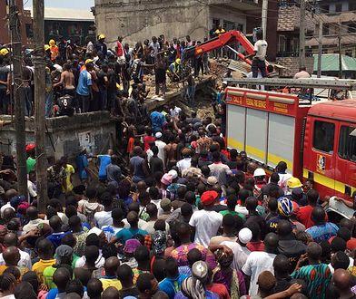 Tragedia w Lagos. Pod gruzami 100 uczniów