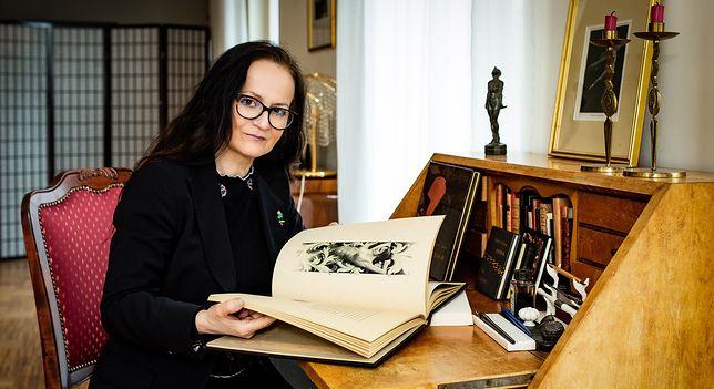Urszula Kurtiak, współwłaścicielka koszalińskiej manufaktury książek