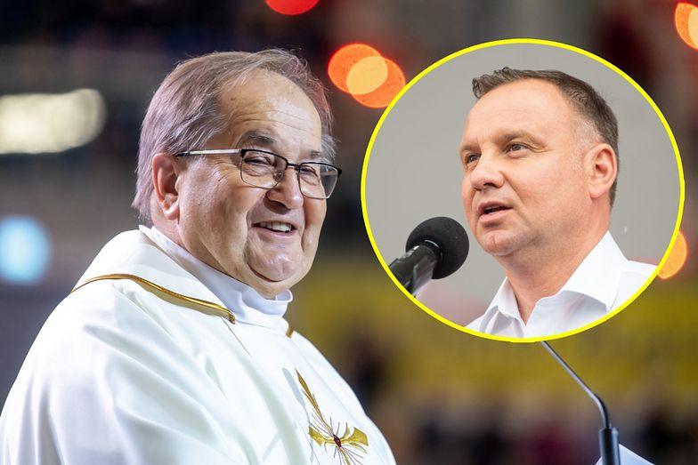 """Duda o Rydzyku. """"Jestem pod wrażeniem zasług dla Kościoła i Polski"""""""