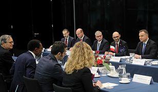 Prezydent Andrzej Duda spotkał się z pracownikami Międzynarodowego Trybunału Karnego w Hadze