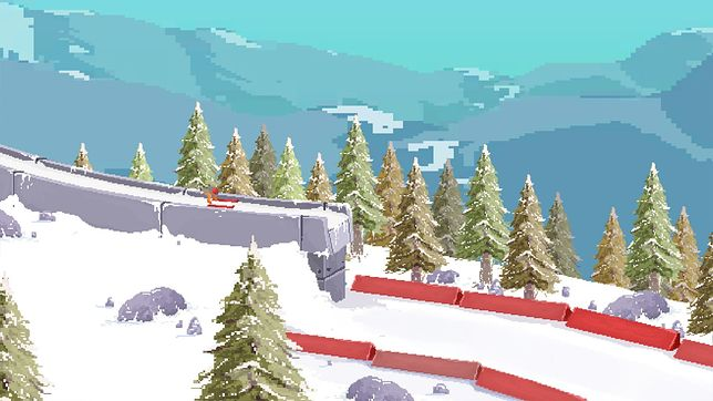 Ultimate Ski Jumping 2020 - screen z gry
