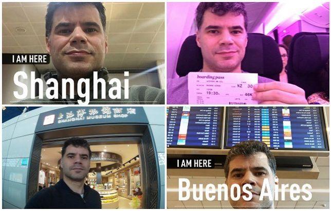 Gil Azevedo dokumentował swoją podróż na zdjęciach