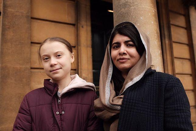 """Greta Thunberg z Malalą Yousafzai. """"Cóż mogę dodać?"""""""