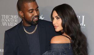 Małżeństwo Kanye'go Westa i Kim Kardashian, według kolorowej prasy, wisi na włosku