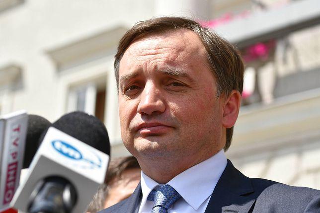 """Zbigniew Ziobro mówił o aferze """"farmy trolli"""" w ministerstwie sprawiedliwości"""