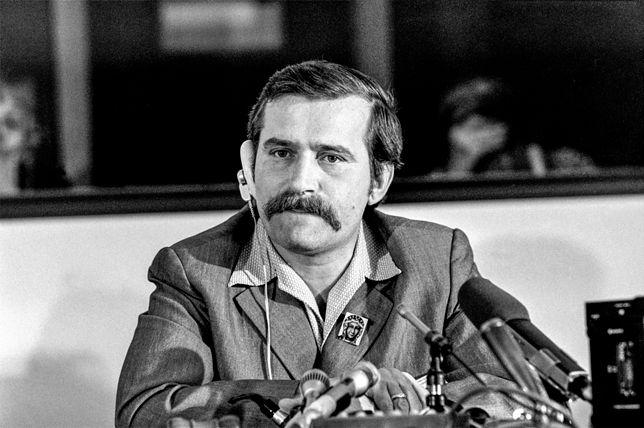 Lech Wałęsa podczas wizyty w Szwajcarii, 2 czerwca 1981 r.