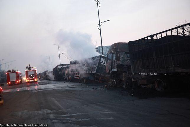 Chiny: Wybuch przy zakładzie chemicznym. Nie żyje kilkadziesiąt osób