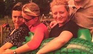 Beata Tadla i jej przyjaciółki.