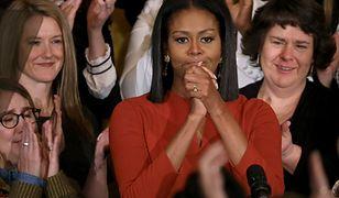 Michelle Obama i jej naturalne loki