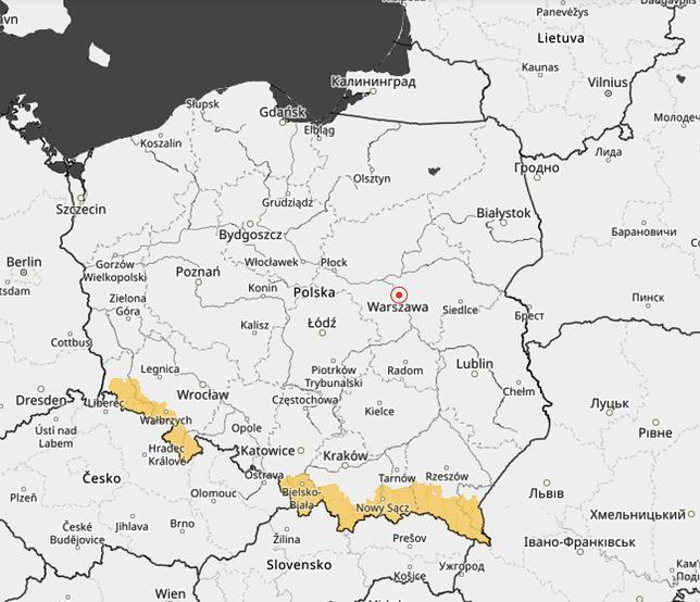 Prognoza pogody dla Polski na weekend