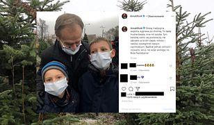 Boże Narodzenie 2020. Donald Tusk udostępnia zdjęcie z wnukami