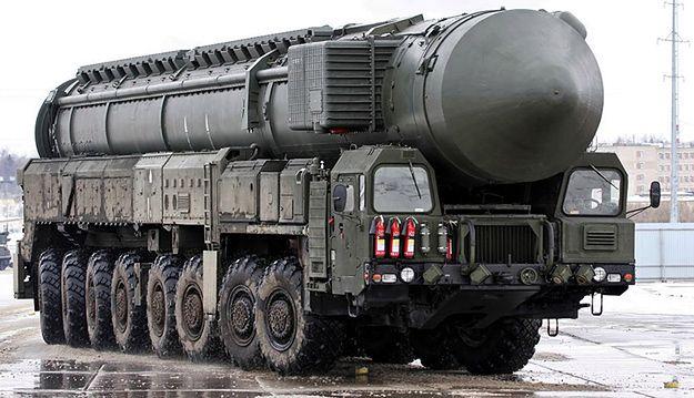 Rosyjska rakieta Topol