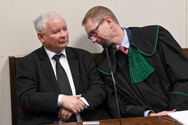 Prezes PiS złożył zawiadomienie do prokuratury. Na zdjęciu: Jarosław Kaczyński, Bogusław Kosmus