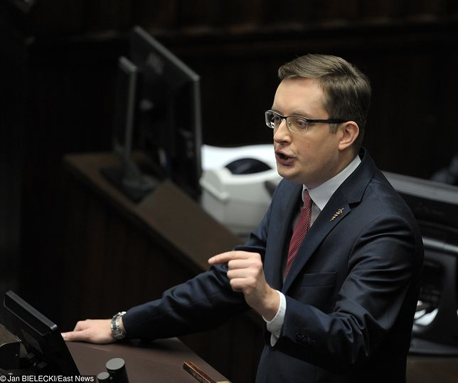 Robert Winnicki, poseł niezrzeszony, prezes Ruchu Narodowego