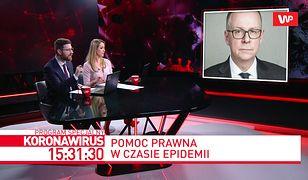 Koronawirus w Polsce. Lekarze z warszawskiego szpitala planują pozew