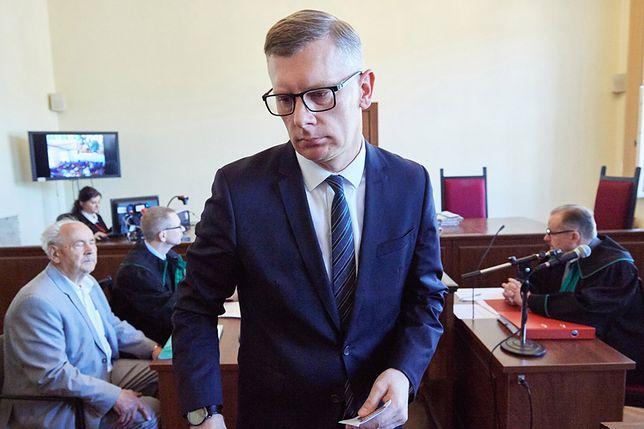 Sławomir Cenckiewicz w sądzie w Gdańsku