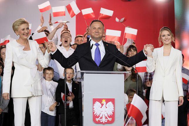 Wyniki wyborów prezydenckich 2020. Andrzej Duda na wieczorze wyborczym
