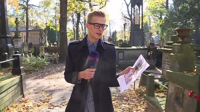 """Zaniedbany grób """"Czterdziestolatka"""". Córka aktora wyjaśnia, jak jest naprawdę"""