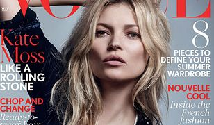 Kate Moss jako królowa rock and rolla