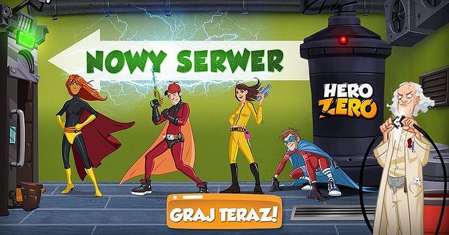 Przepustki sezonowe i nowy polski serwer w Hero Zero!