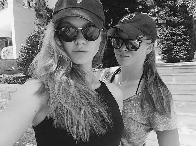 Iga i Pola Lis na wakacjach w Grecji