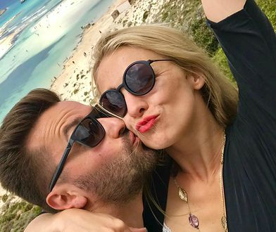 Jeszcze kilka dni temu Barbara Kurdej-Szatan bawiła się z mężem w Grecji.