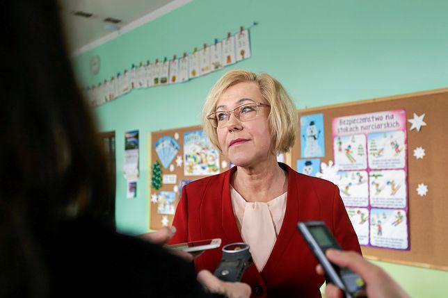 Barbara Nowak mieszka z mężem w szkole od 1992 roku