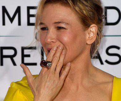 Renee Zellweger na premierze nowego filmu