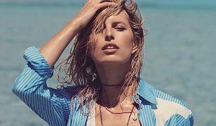 """Karolina Kurkova - nowojorska """"it girl"""" na Bahamach"""