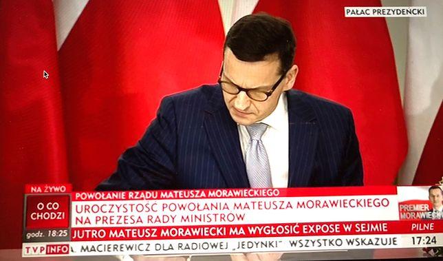 Mateusz Morawiecki zostaje nowym premierem