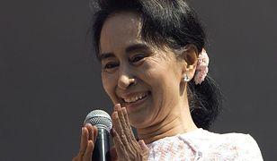Aung San Suu Kyi potępiła przypadki łamania praw człowieka w jej kraju