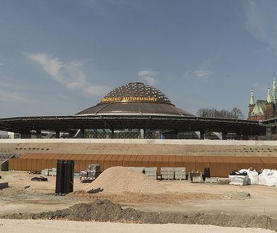 Dworzec PKS w Kielcach. Marzec 2020