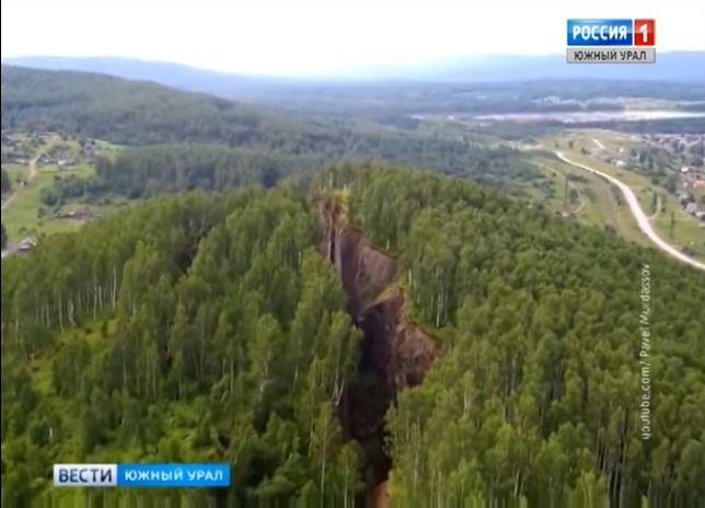 Pęknięcia na Uralu